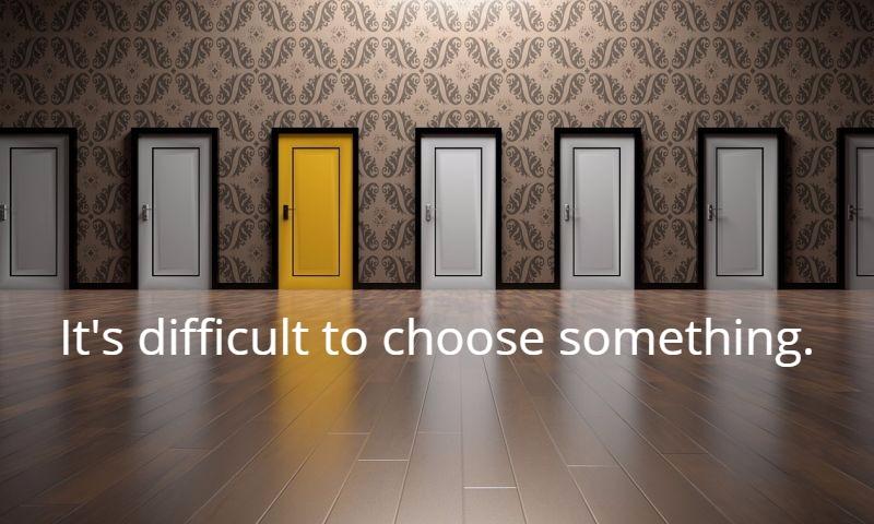 ホームページ制作会社を選ぶのは難しい|大阪ホームページ制作 「選ぶって難しい」